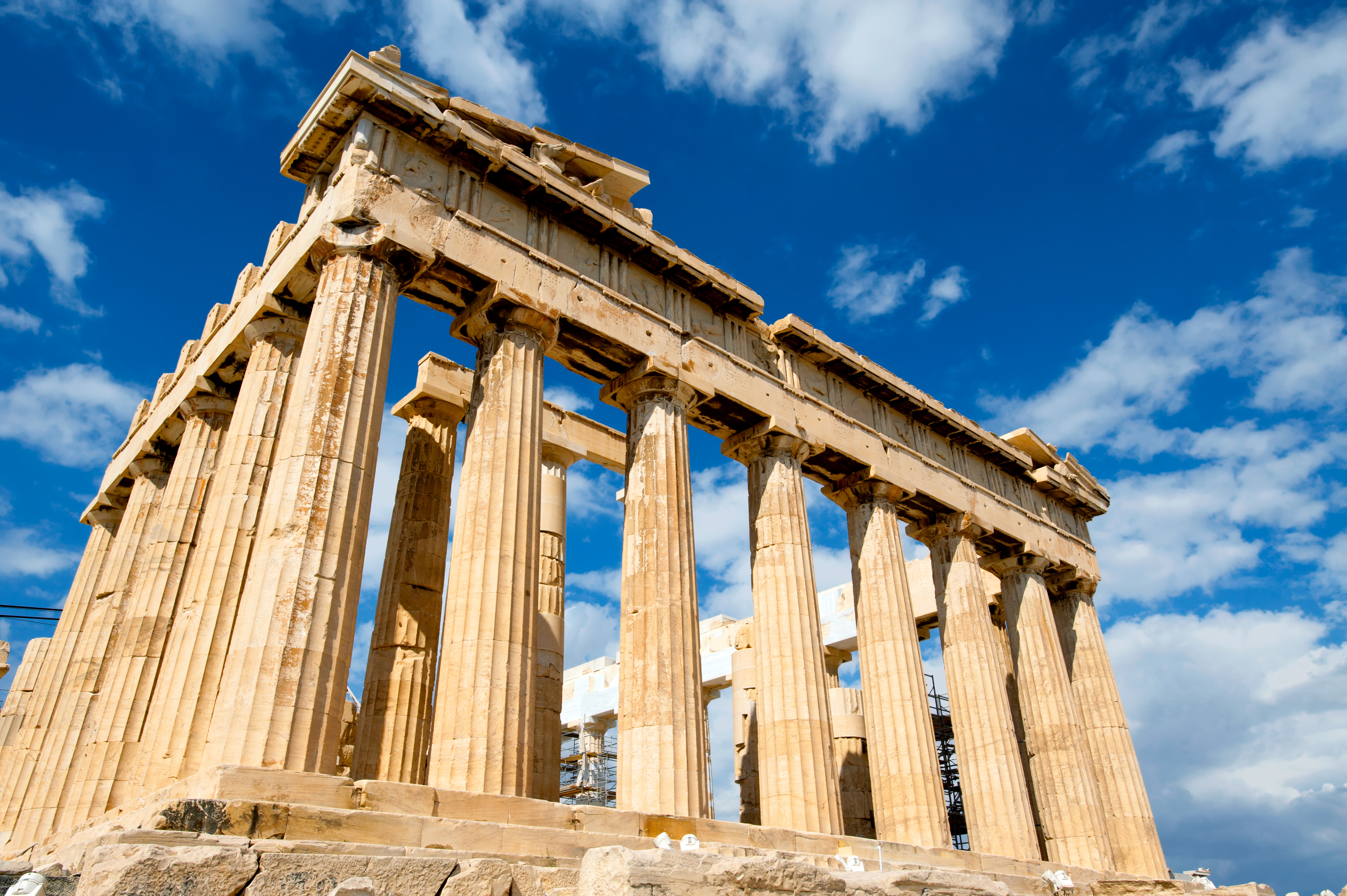 What Did Athen's Parthenon Look Like To Apostle Paul?