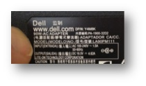 Dell Power Adaptor