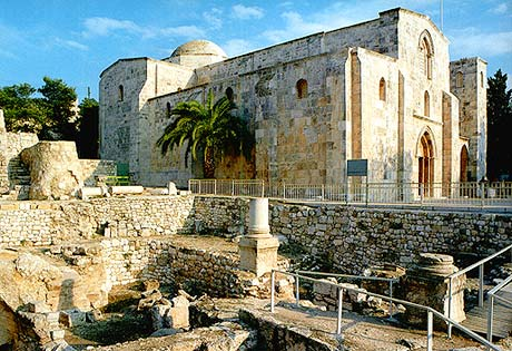 Immerse Yourself in Worship in the Stunning Acoustics of St Anne's Church, Jerusalem
