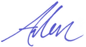 arlen-first-name-signature-blue