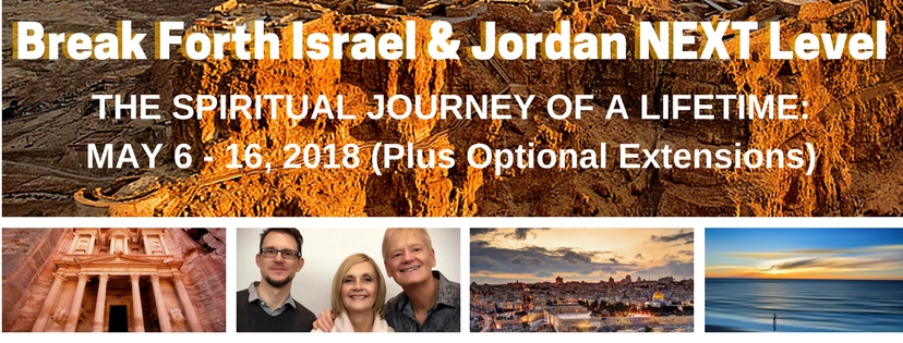 Get Your Free Break Forth Israel & Jordan NEXT Level 2018 Brochure Here